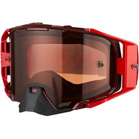 Leatt Velocity 6.5 Anti Fog Goggles, rood
